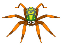 Spider clipart #12, Download drawings