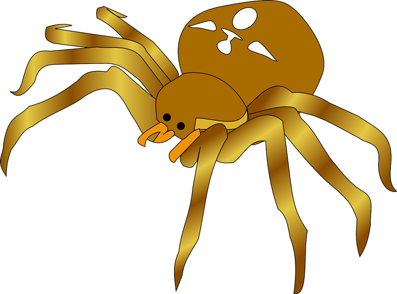 Spider clipart #4, Download drawings