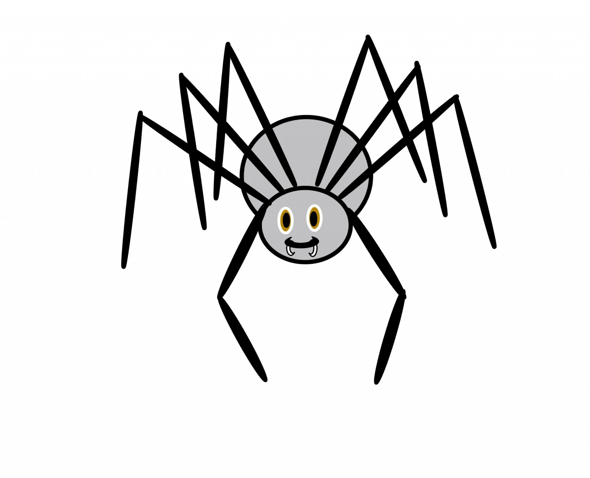 Spider clipart #2, Download drawings