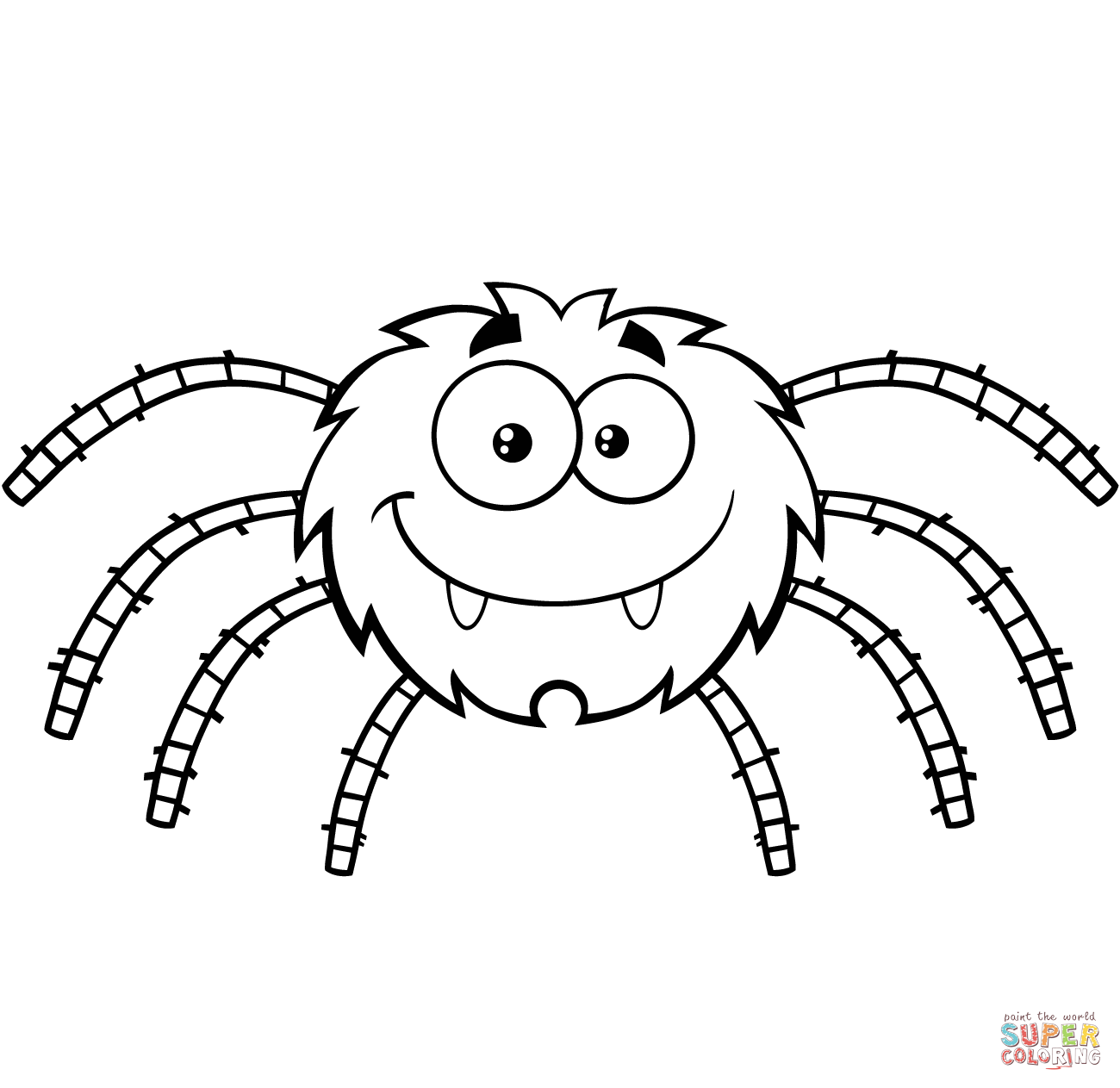 Redback Spider coloring #10, Download drawings