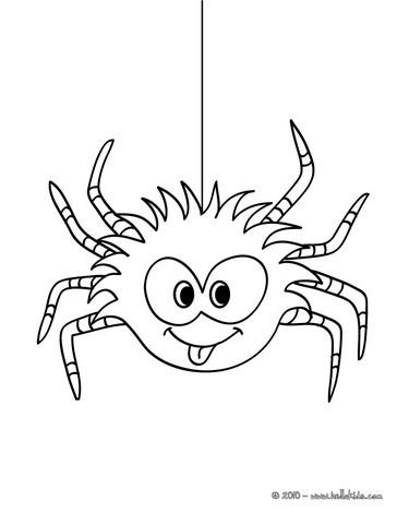 Tarantula coloring #5, Download drawings