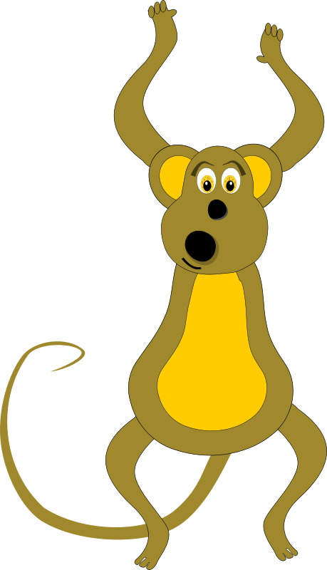 Spider Monkey clipart #3, Download drawings