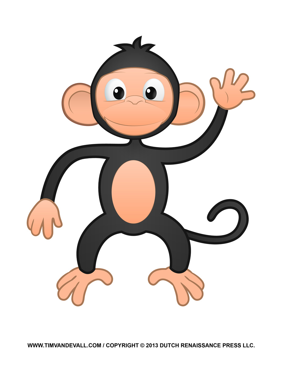 Spider Monkey clipart #5, Download drawings