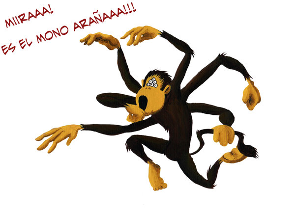Spider Monkey clipart #18, Download drawings