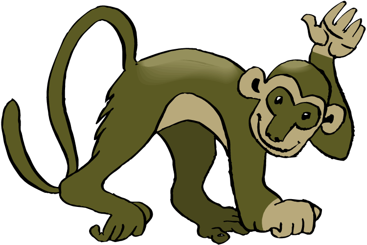 Squirrel Monkey clipart #20, Download drawings