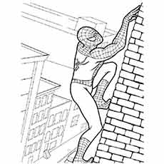 Spider-Man coloring #15, Download drawings