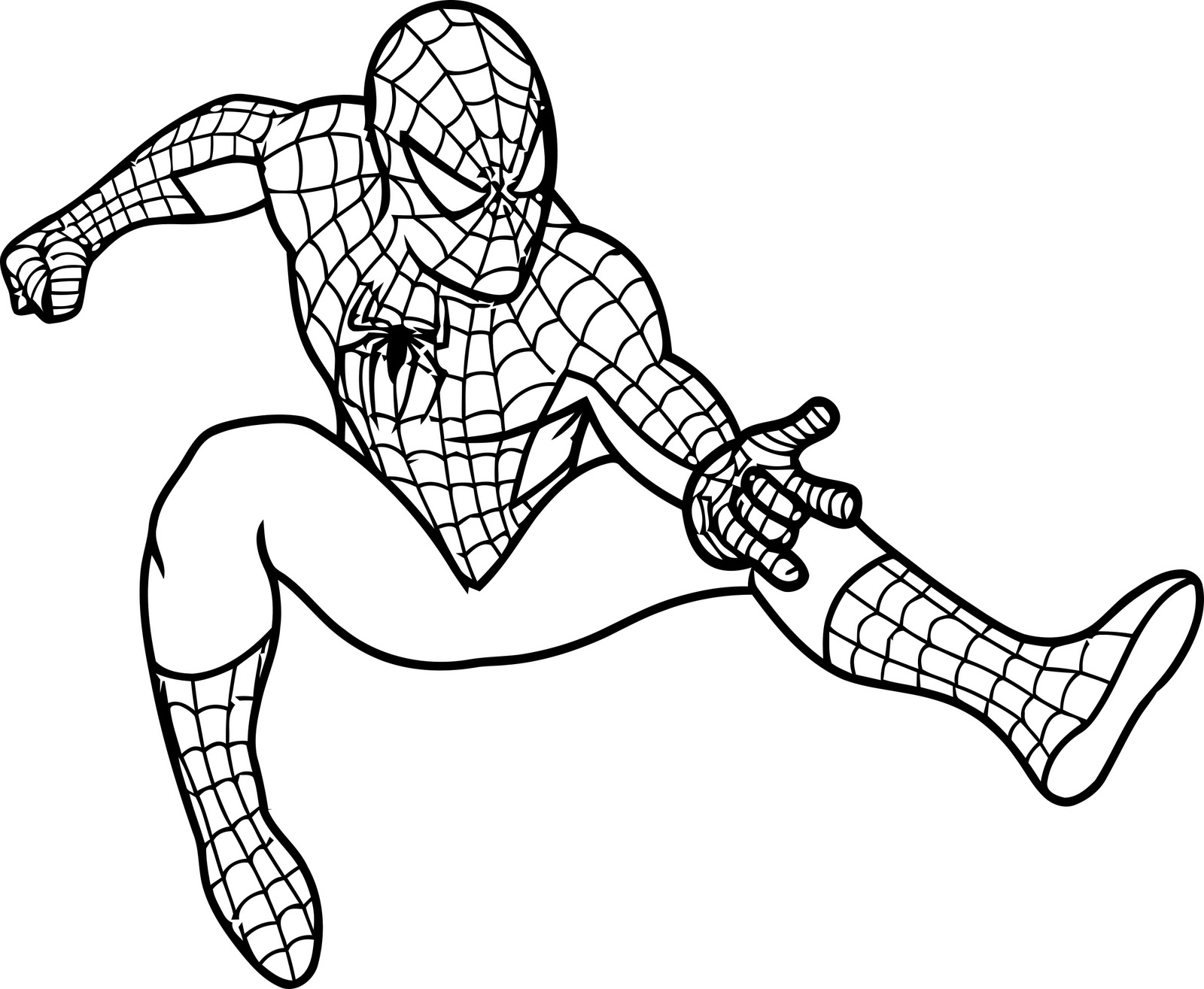 Spider-Man coloring #20, Download drawings