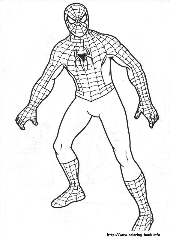 Spider-Man coloring #13, Download drawings