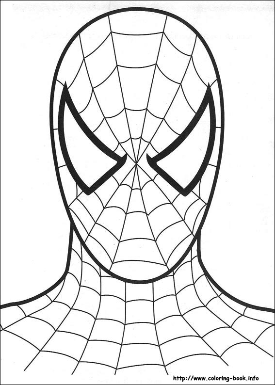 Spider-Man coloring #10, Download drawings