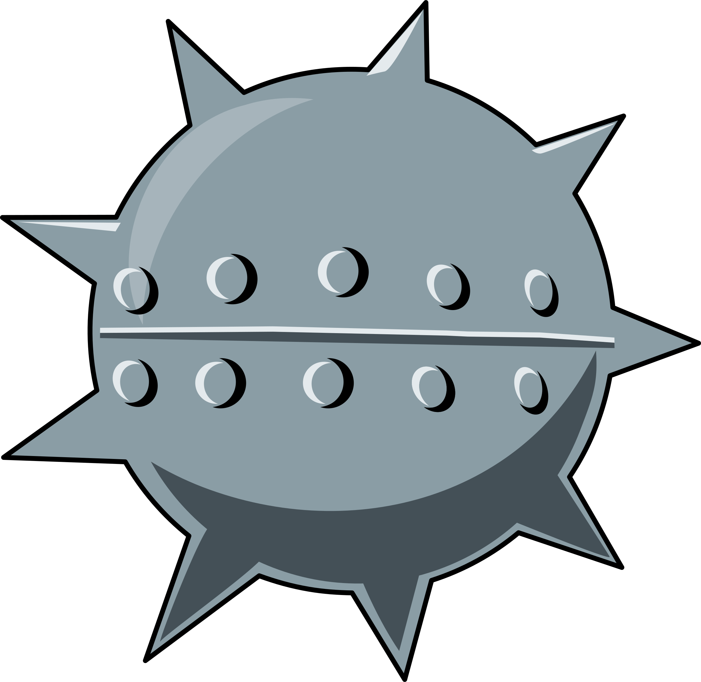Spikes clipart #1, Download drawings