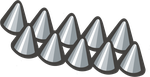 Spikes clipart #14, Download drawings
