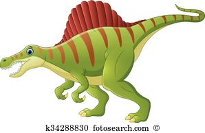Spinosaurus clipart #1, Download drawings
