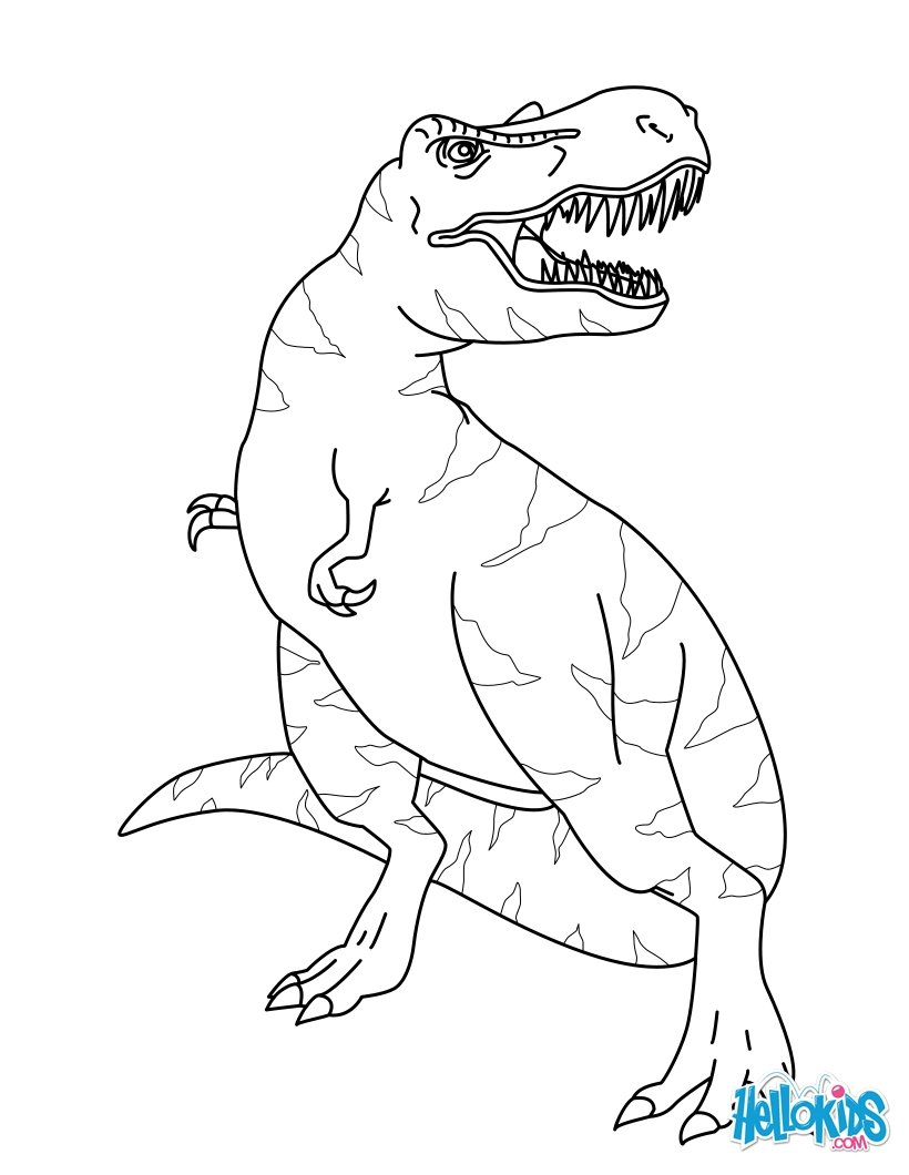 Tyrannosaurus Rex coloring #20, Download drawings