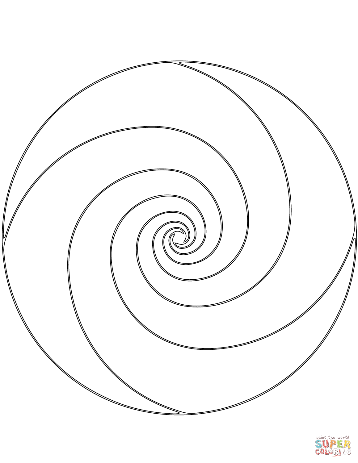 Spiral coloring, Download Spiral coloring for free 2019