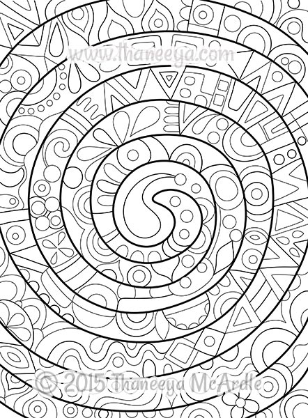 Spiral Coloring Download Spiral Coloring