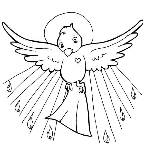 Spirit Angel coloring #10, Download drawings