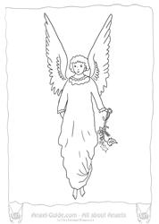 Spirit Angel coloring #14, Download drawings
