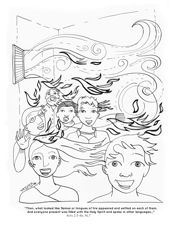 Spirit Angel coloring #15, Download drawings