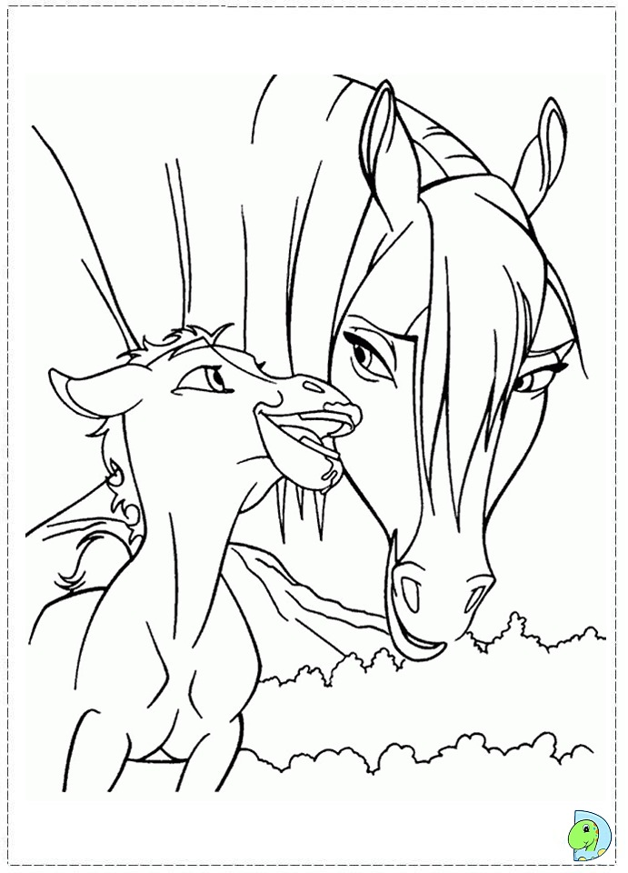 Spirit coloring #7, Download drawings