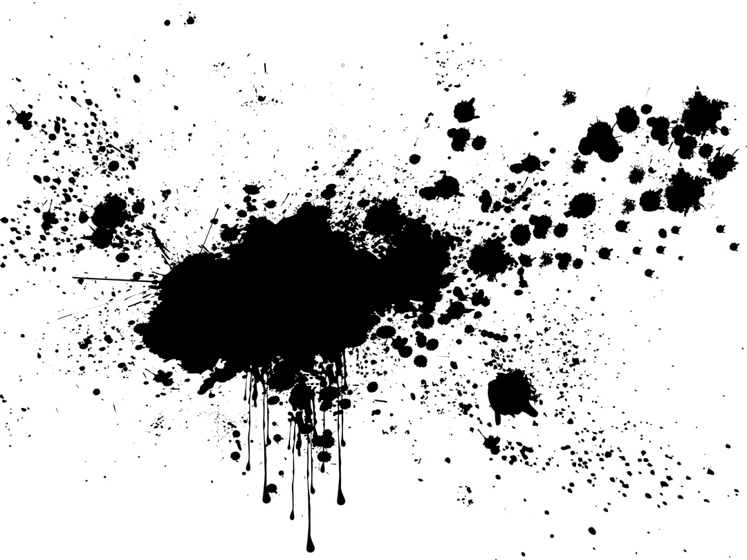 Splatter clipart #6, Download drawings