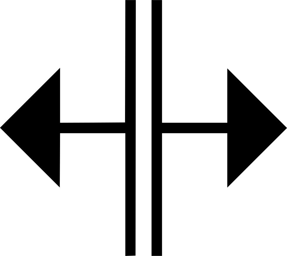 split arrow svg #1213, Download drawings