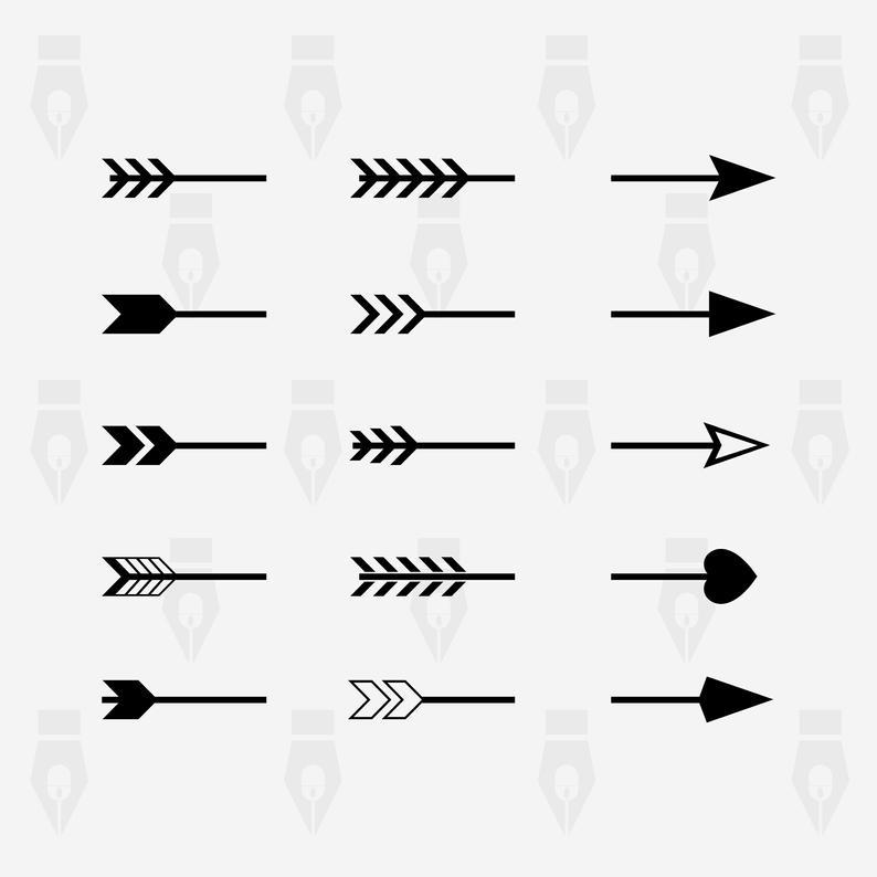 split arrow svg #1257, Download drawings