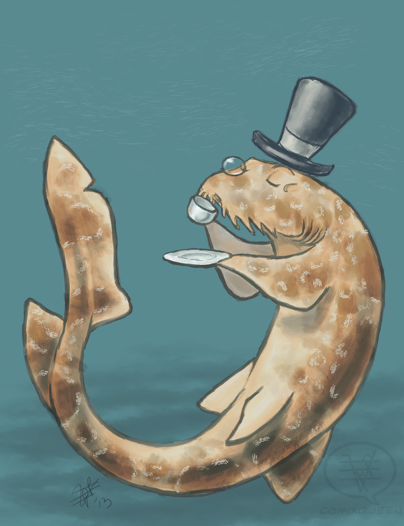 Spotted Wobbegong Shark clipart #6, Download drawings