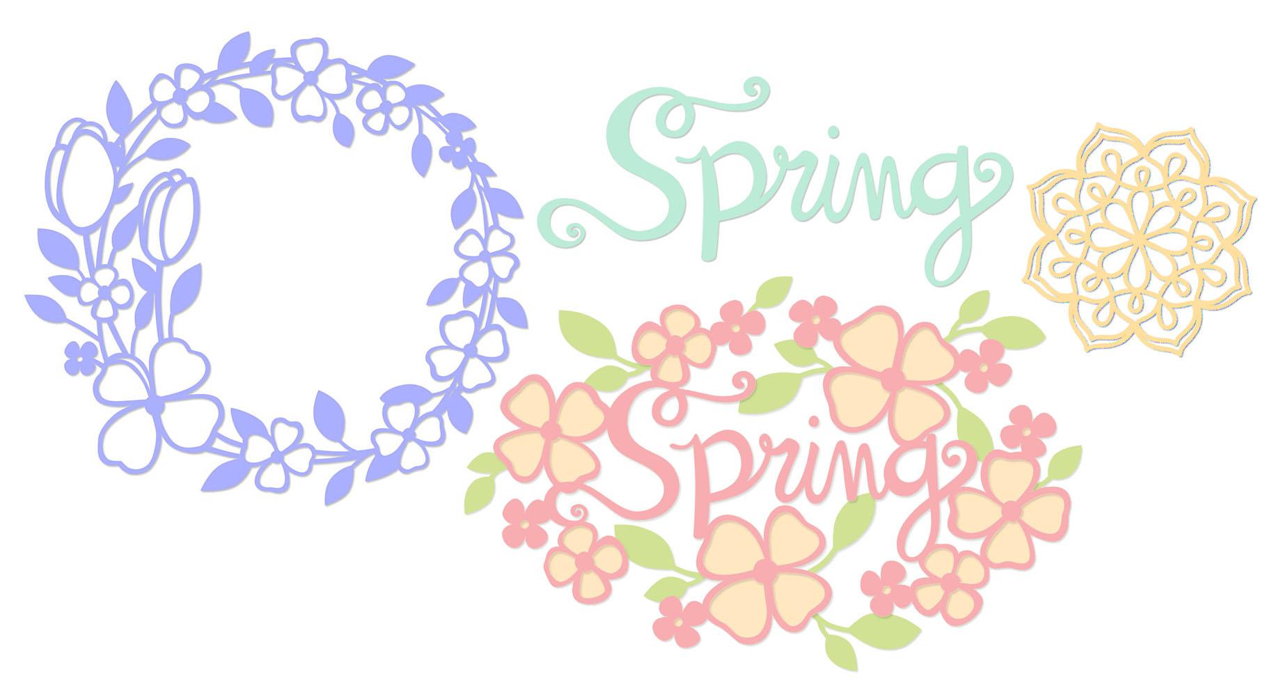 Spring svg #11, Download drawings