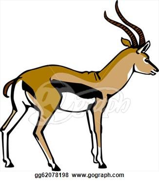 Springbok clipart #11, Download drawings
