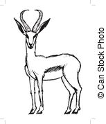 Springbok clipart #9, Download drawings