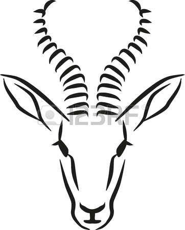 Springbok clipart #8, Download drawings