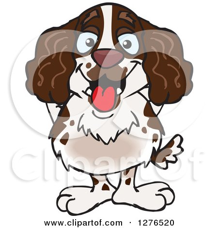 Springer Spaniel clipart #2, Download drawings