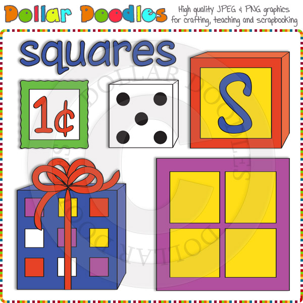 Squares clipart #6, Download drawings