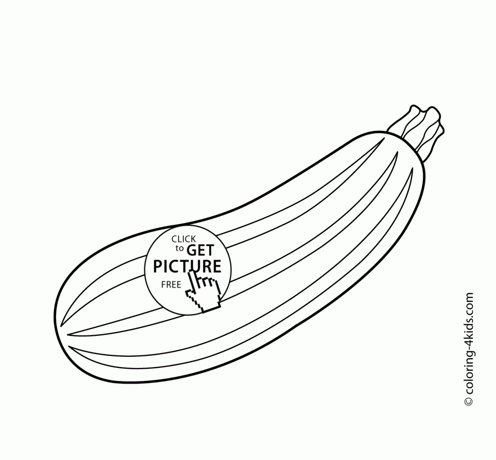 Squash template coloring pages ~ Yellow Squash Coloring Page Coloring Pages