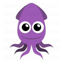 Squid clipart #11, Download drawings