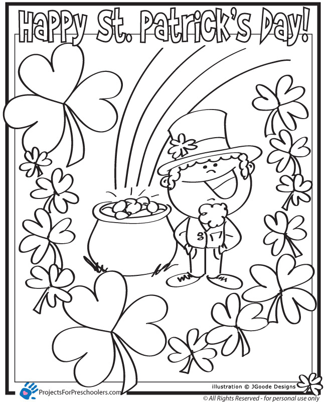 St. Patrick's Day coloring #16, Download drawings