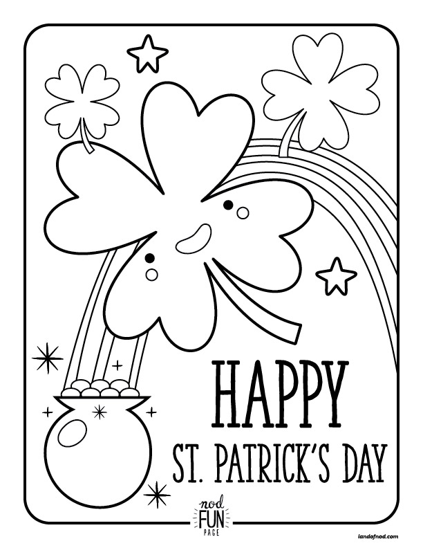 St. Patrick's Day coloring #13, Download drawings