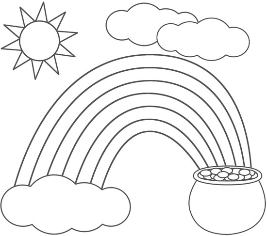 St. Patrick's Day coloring #5, Download drawings