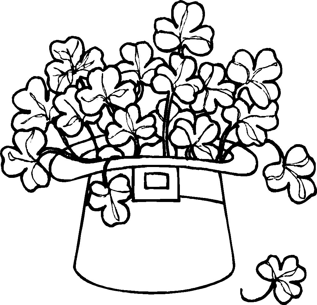 St. Patrick's Day coloring #17, Download drawings