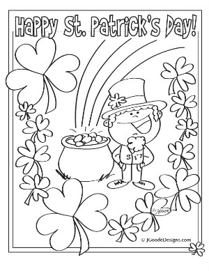 St. Patrick's Day coloring #15, Download drawings