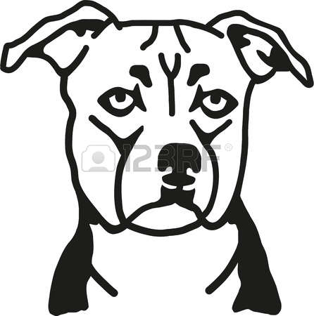 Staffordshire Bull Terrier clipart #17, Download drawings