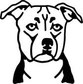 Staffordshire Bull Terrier clipart #8, Download drawings