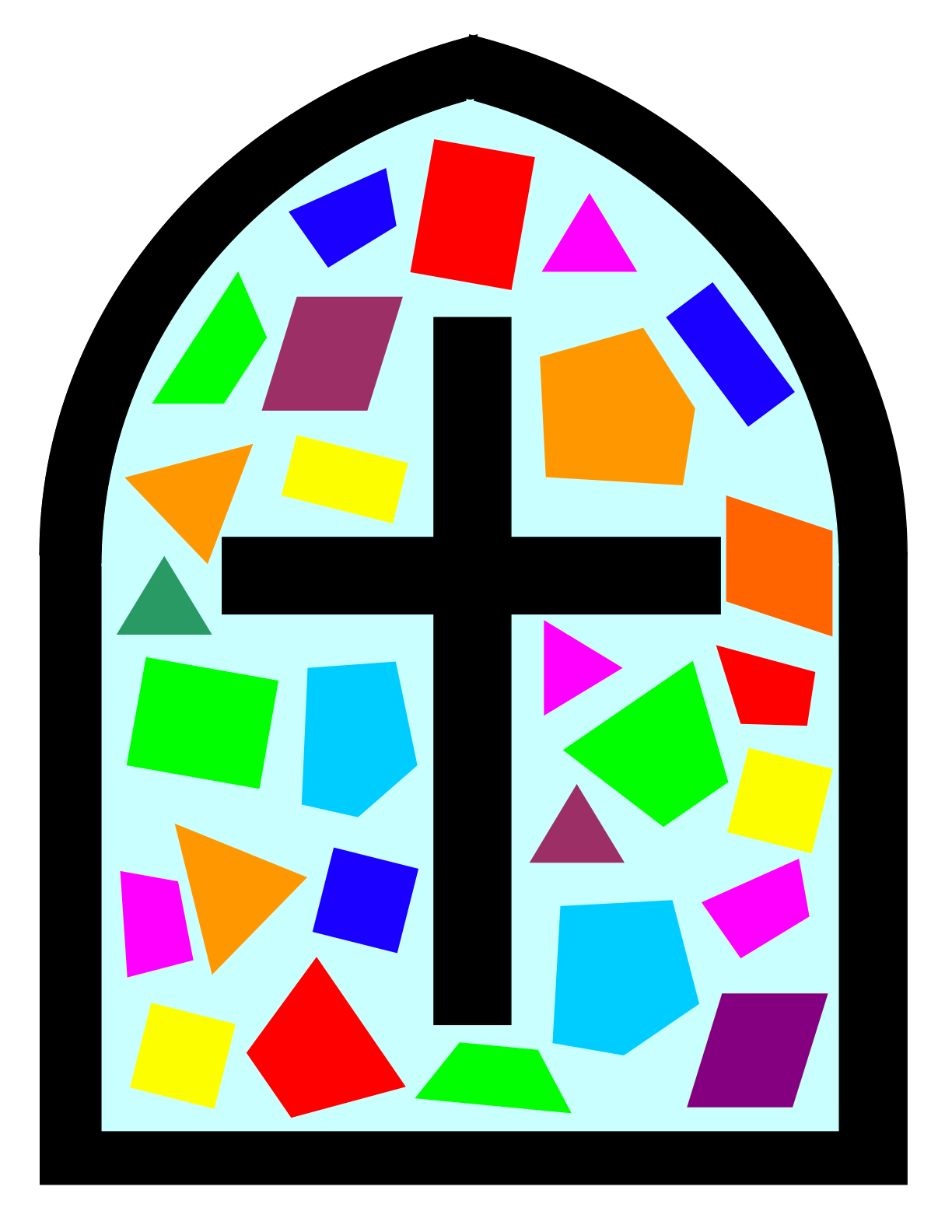 Stained Glass clipart #6, Download drawings