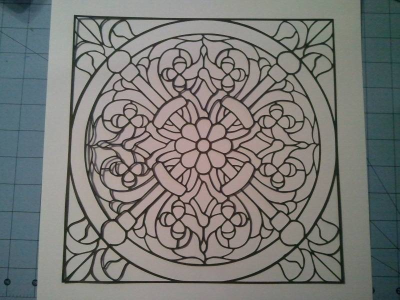 Stained Glass svg #14, Download drawings