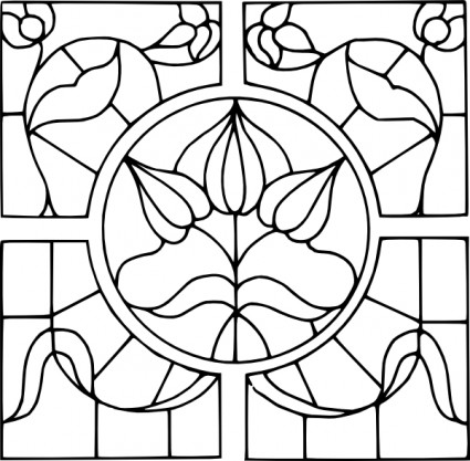 Stained Glass svg #6, Download drawings