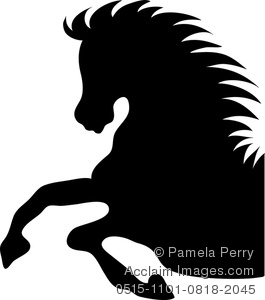 Stallion clipart #2, Download drawings