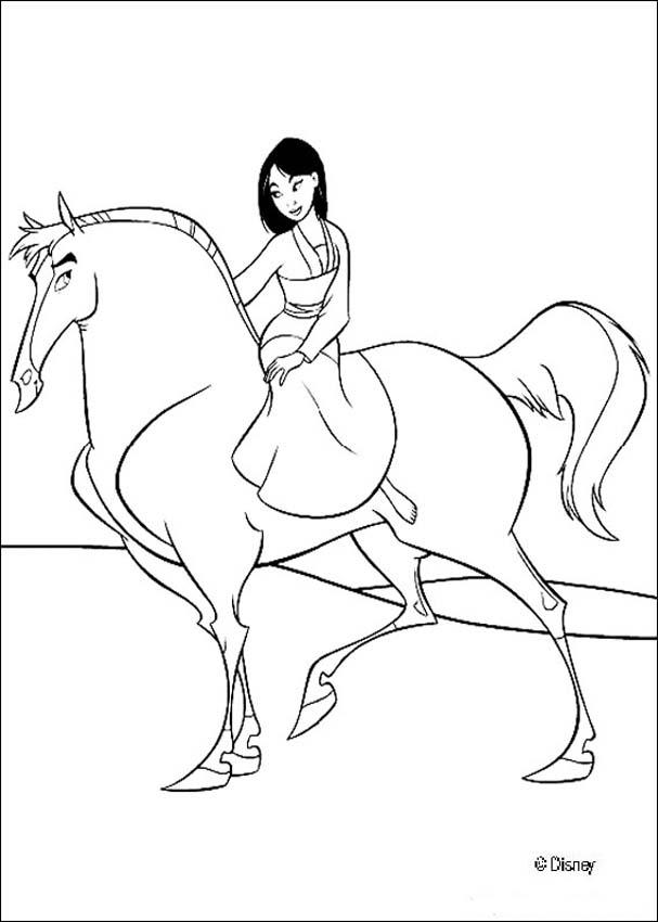 Stallion coloring #2, Download drawings