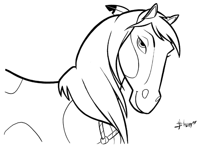 Stallion coloring #10, Download drawings