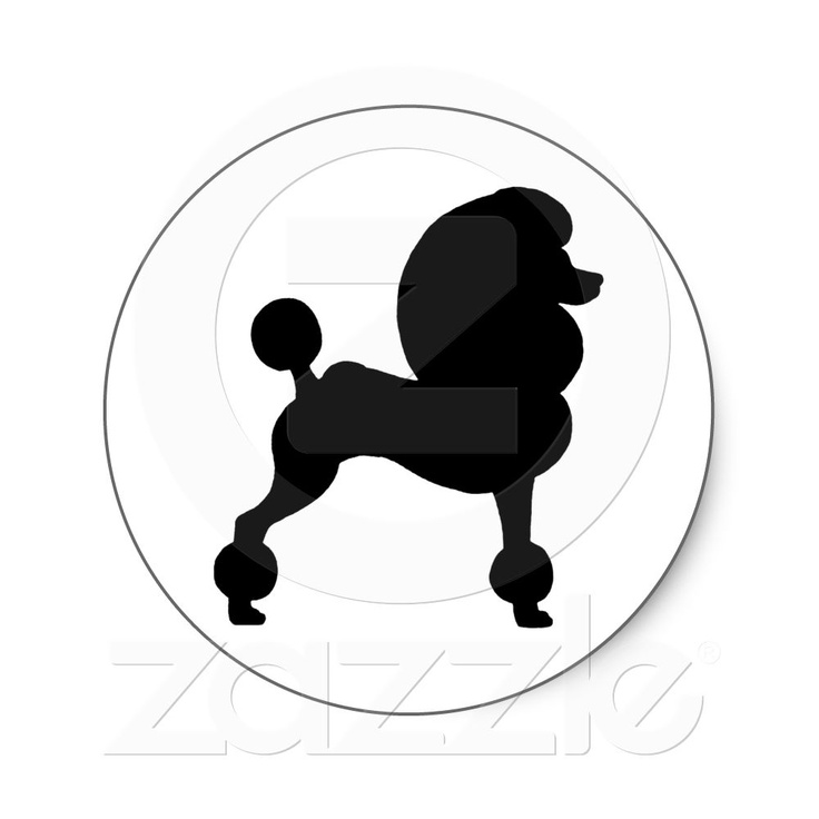 Standard Poodle clipart #3, Download drawings