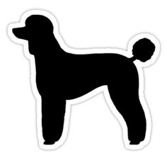 Standard Poodle clipart #10, Download drawings